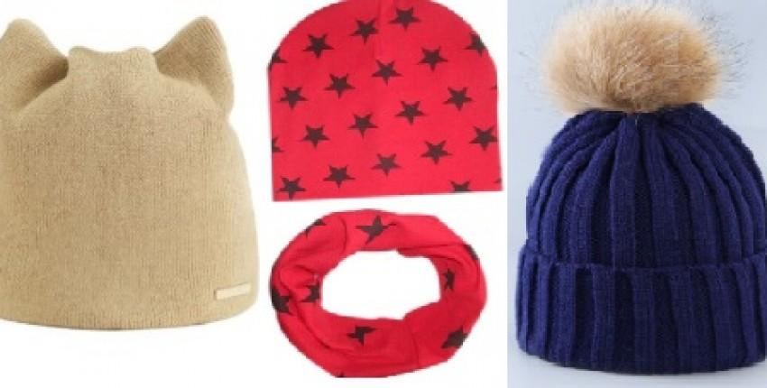 Детские шапочки от Алиэкспресс