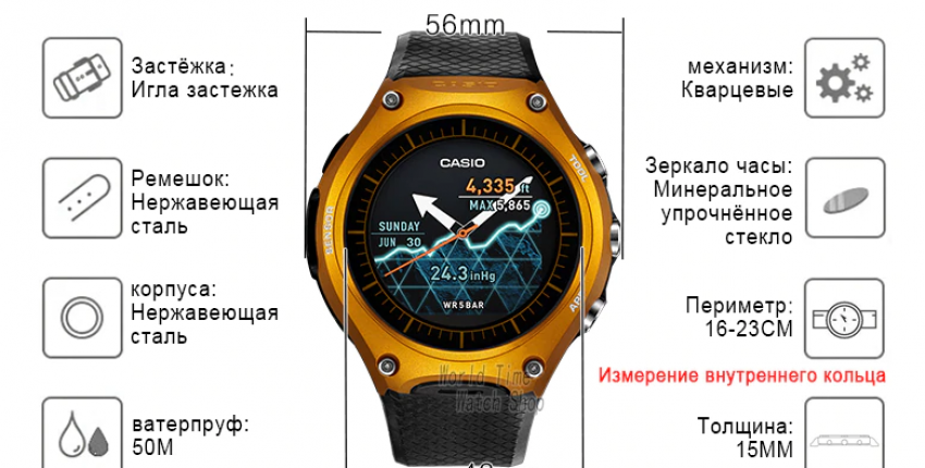 Часы мужские Casio G shock люксовый бренд водонепроницаемые спортивные - отзыв покупателя