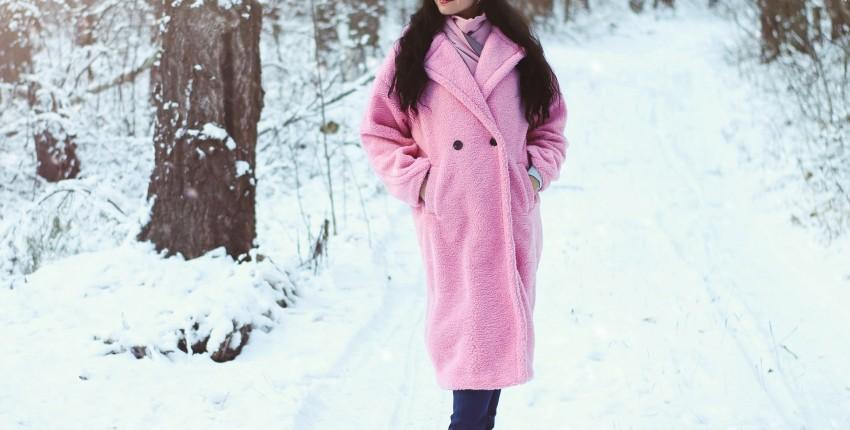 Розовое плюшевое пальто NAGODO - отзыв покупателя