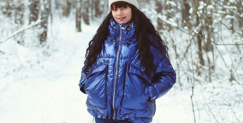 Стильная куртка-металлик NAGODO - отзыв покупателя