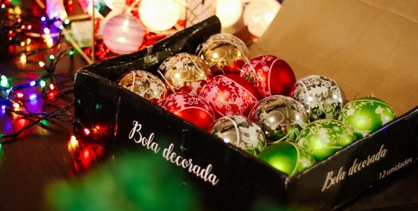 Новогодние шары на ель Bola decorada
