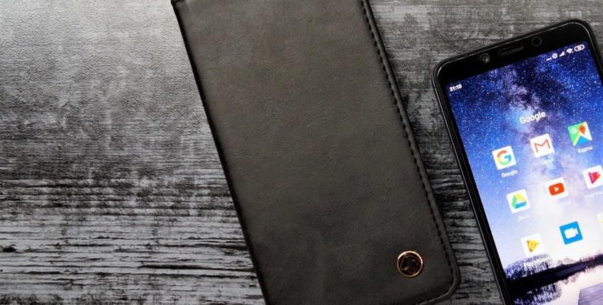 Чехол-кошелек для смартфона - отзыв покупателя