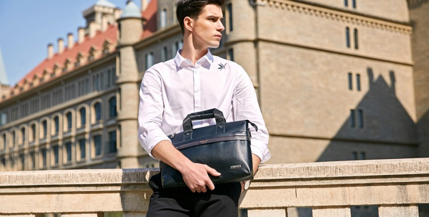 Красивые мужские сумки с Алиэкспресс от 1156 рублей - отзыв покупателя