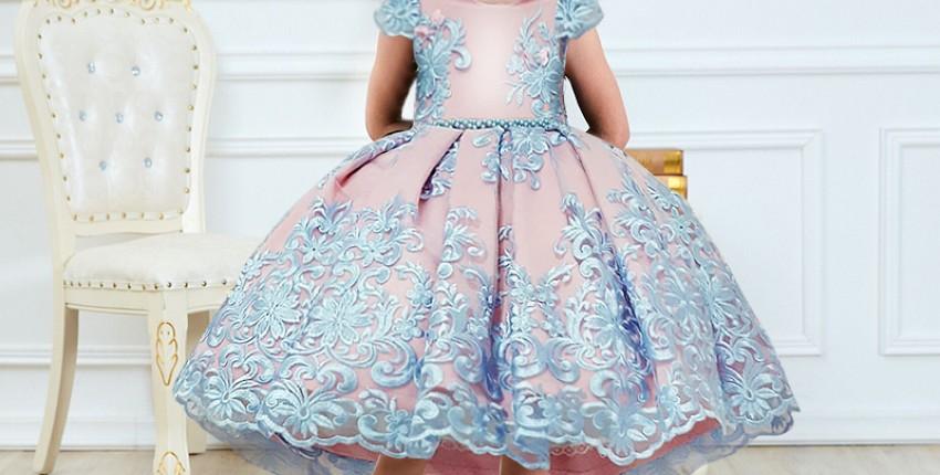 Одежда для принцесс с Алиэкспресс - отзыв покупателя