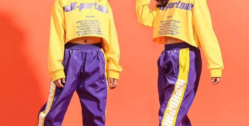 Хип-хоп одежда для детей с Алиэкспресс: костюмы от 400 рублей - отзыв покупателя