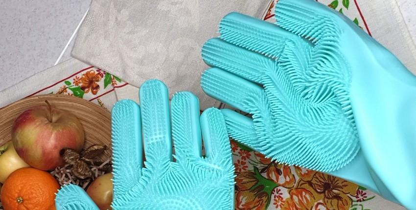 Волшебные силиконовые перчатки - отзыв покупателя
