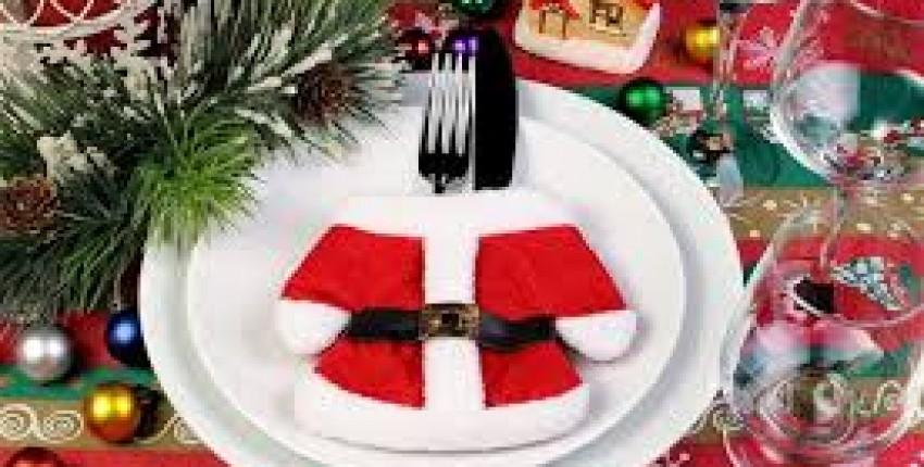 Украшения для новогоднего стола - отзыв покупателя