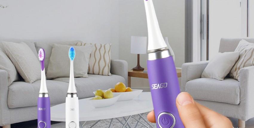 SEAGO Sonic ультразвуковая электрическая зубная щетка - отзыв покупателя