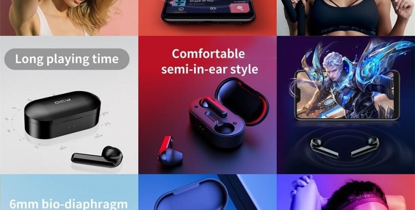 Auriculares inalámbricos Xiaomi T3 TWS huella digital táctil Bluetooth V5.0 3D estéreo con doble mic - opinión del cliente
