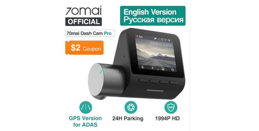 Grabadora de video XIAOMI 70mai Dash Cam Pro oleksiisilin1980 - opinión del cliente