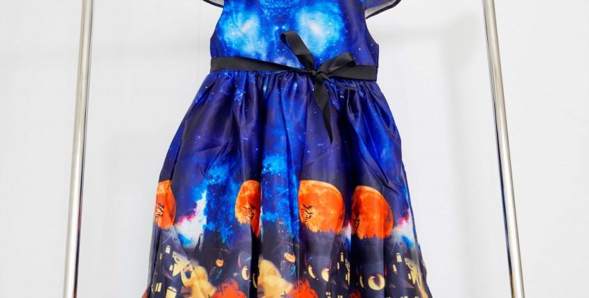 Детское платье в стиле Хэллоуин - отзыв покупателя