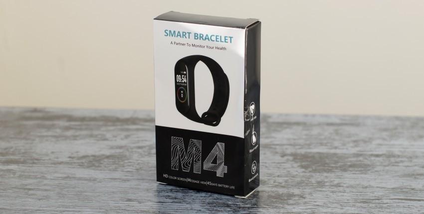 Pulsera inteligente de fitness M4 - comentários do cliente