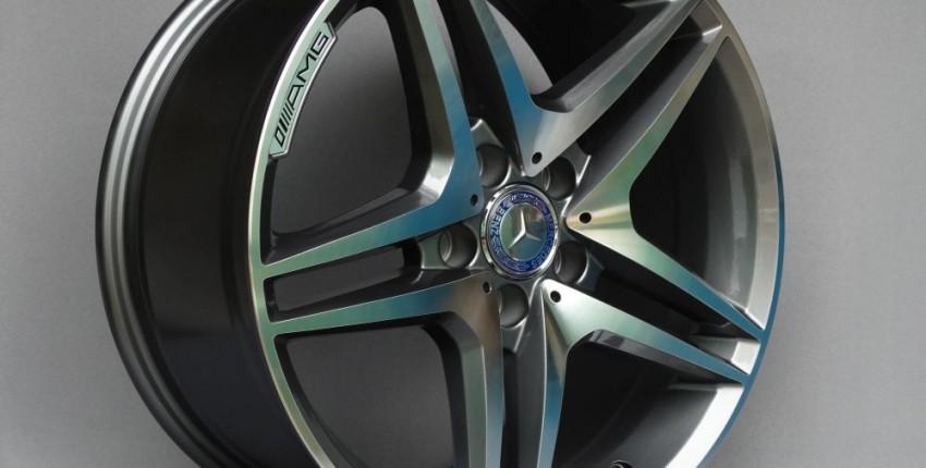 Колёсные диски из алюминиевого сплава AMG - отзыв покупателя