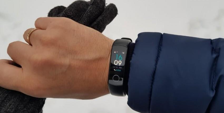 Pulseira de Honra band 4 com monitoramento constante do pulso durante o treinamento e uma tela color - comentários do cliente