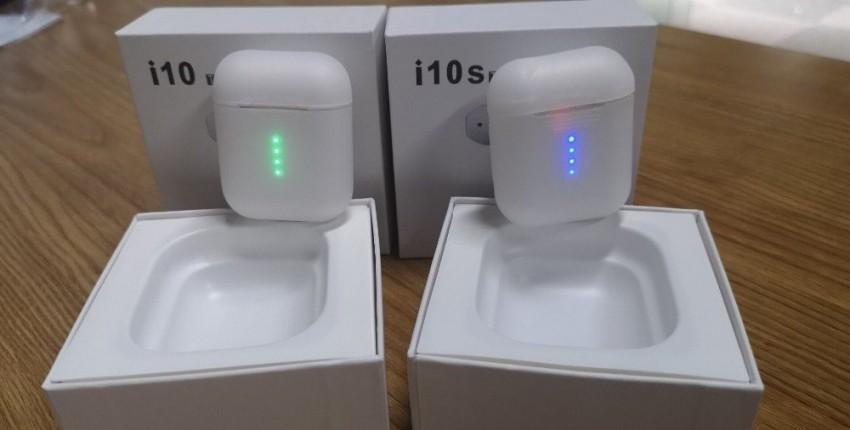 MELHOR CPIA AirPods i10 TWS i10s baratos bluetooth Fones de ouvido - comentários do cliente