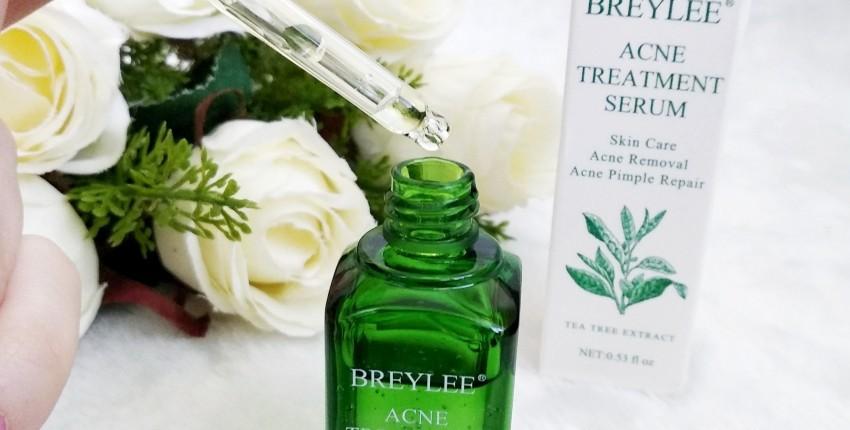 Soro de tratamento da acne de BREYLEE - comentários do cliente