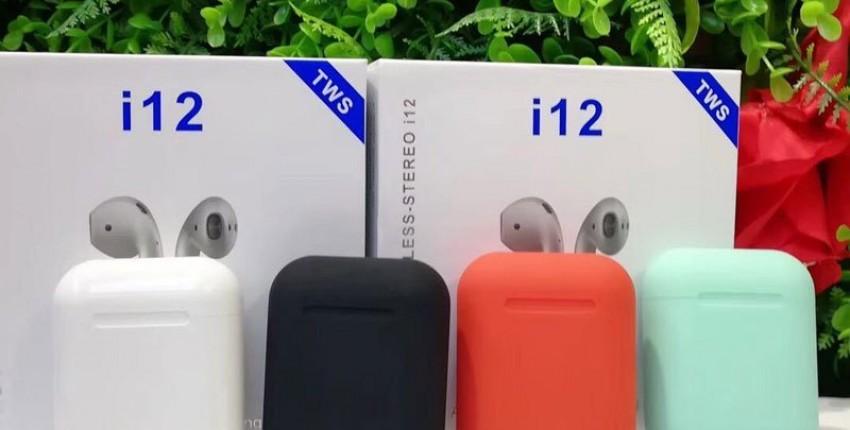 i12 TWS originais Bluetooth 5,0 fones de ouvido AirPods - comentários do cliente