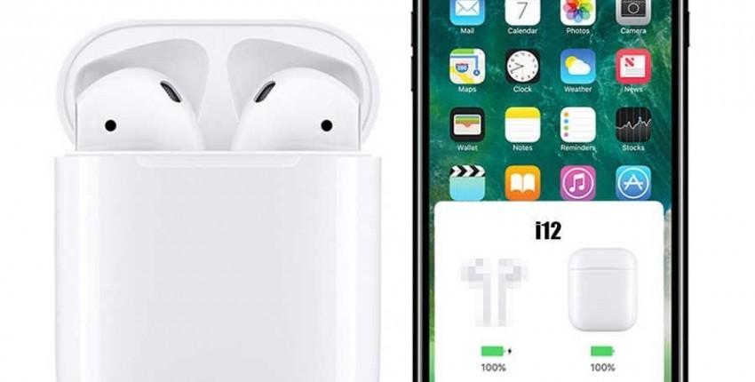 i12 TWS MELHOR PREO !!! 2019 nova verso POP UP Chip W1 AirPods analógico Bluetooth fones de ouvido