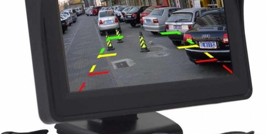 Камера заднего вида, 4,3 TFT ЖК-монитор для автомобиля