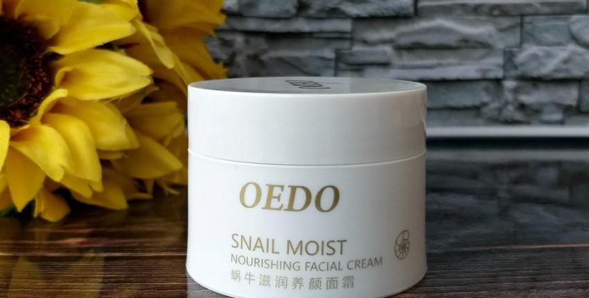 Крем для лица OEDO Snail moist. Питает и увлажняет кожу лица в прохладный период.