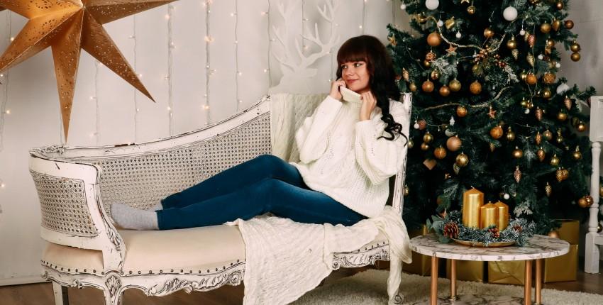 Уютный белый свитер Xiaoxiao - отзыв покупателя