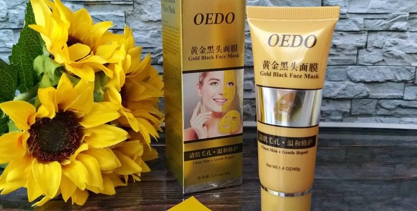 Маска-пленка от OEDO: чистит слабо, но хорошо сужает поры и убирает ороговевшие клетки эпидермис.