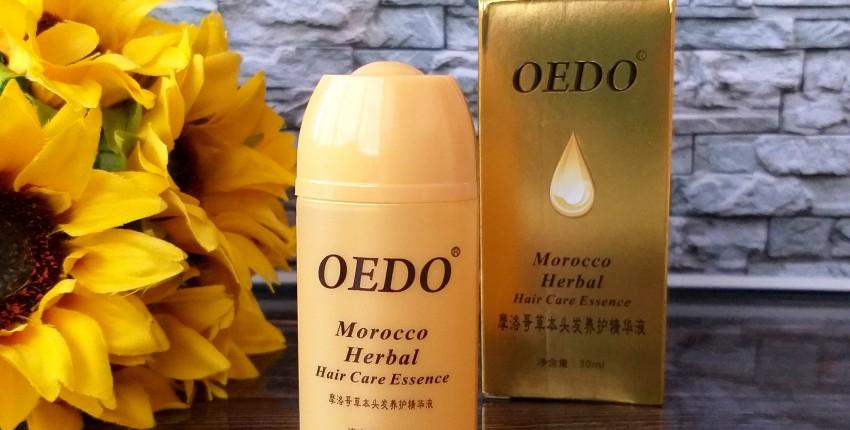 Эссенция OEDO Morocco Herbal придаст волосам ослепительный блеск и мягкость.