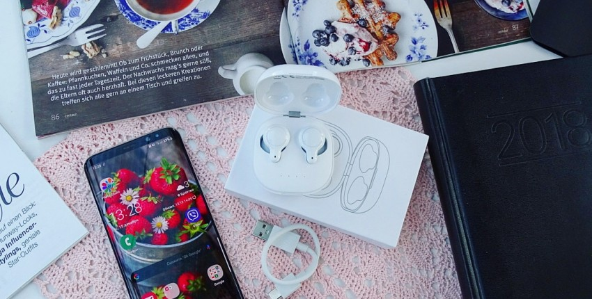 Беспроводные Bluetooth наушники - отзыв покупателя
