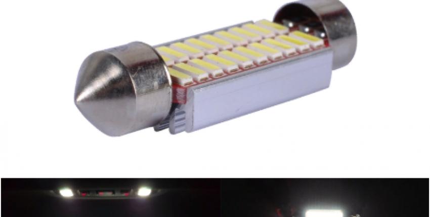 Светодиодные лампы в салон автомобиля. - отзыв покупателя