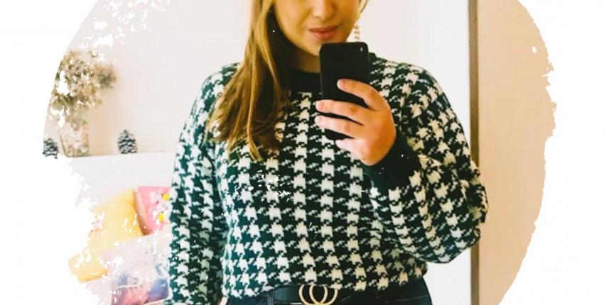 Стильный свитер Sams Tree. Обзор с моими реальными фото. - отзыв покупателя