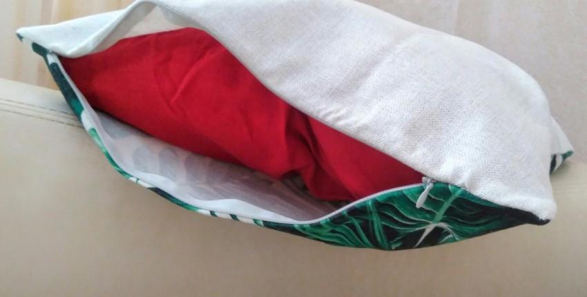 Яркая наволочка с тропическим принтом от бренда Giantex. - отзыв покупателя