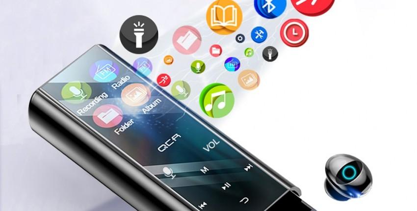 QCR MP3 беспроводные bluetooth наушники-вкладыши