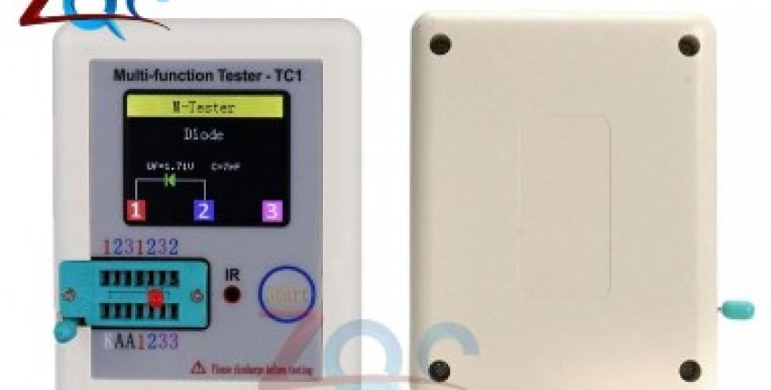 LCD Transistor Tester TFT Diode Triode Capacitance Meter. - User's review