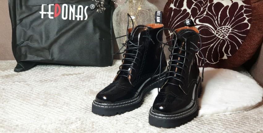 Актуальные ботинки из натуральной кожи с Алиэкспресс - отзыв покупателя