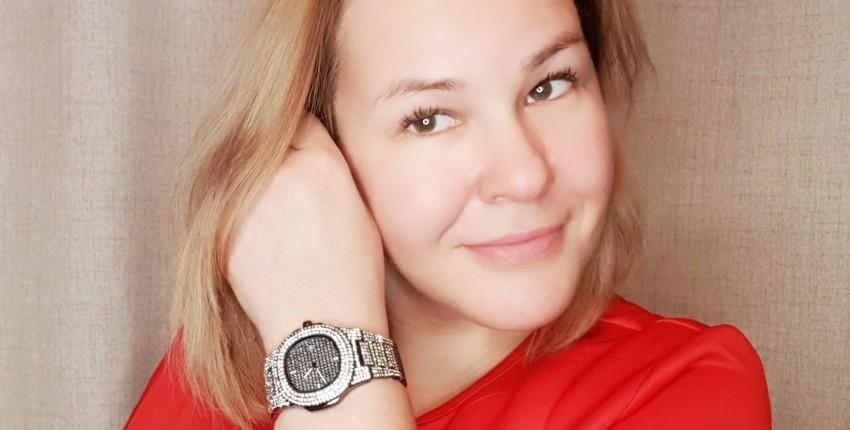 Роскошные часы со стразами - отзыв покупателя