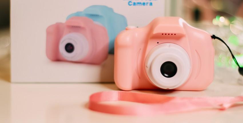 Мини цифровой фотоаппарат для детей