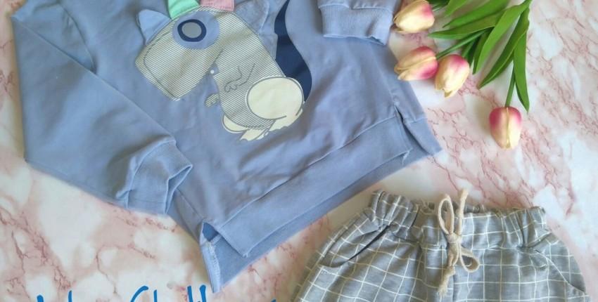 Детский костюм от бренда AiLe Rabbit. - отзыв покупателя