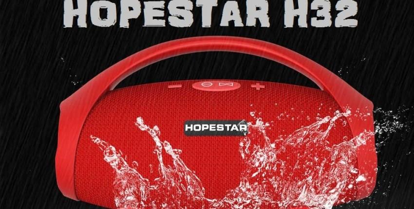 HOPESTAR H32 Bluetooth  музыкальная Колонка - отзыв покупателя