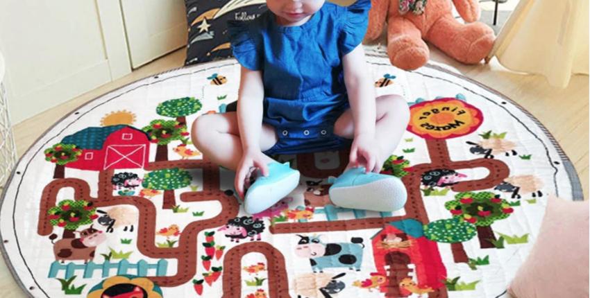 Лучшие детские ковры с Алиэкспресс от 223 рублей