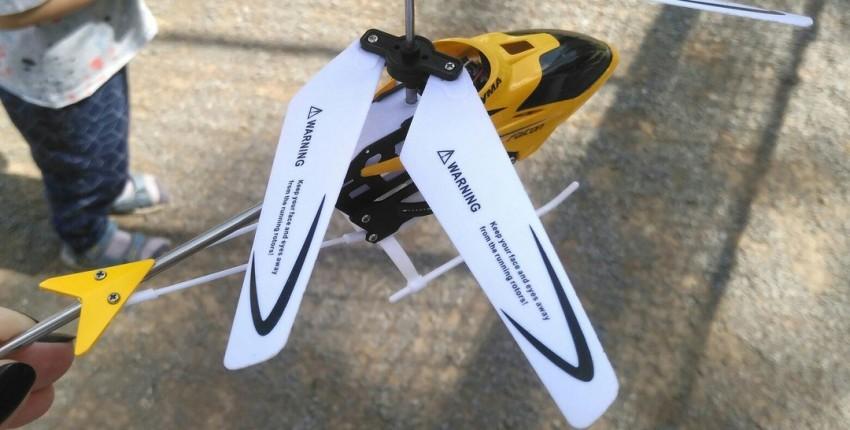 Вертолёт на радиоуправлении SYMA W25. - отзыв покупателя