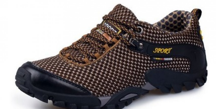 Outdoor Hiking Waterproof Sneakers Breathable. - User's review