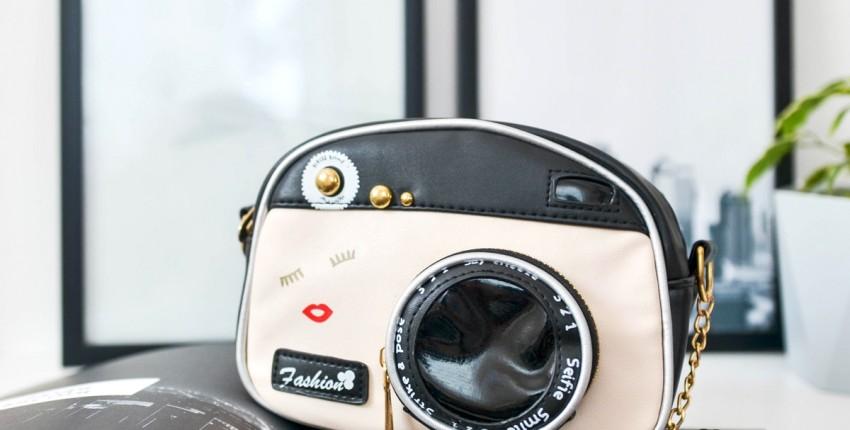 Необычная сумка-фотоаппарат - отзыв покупателя