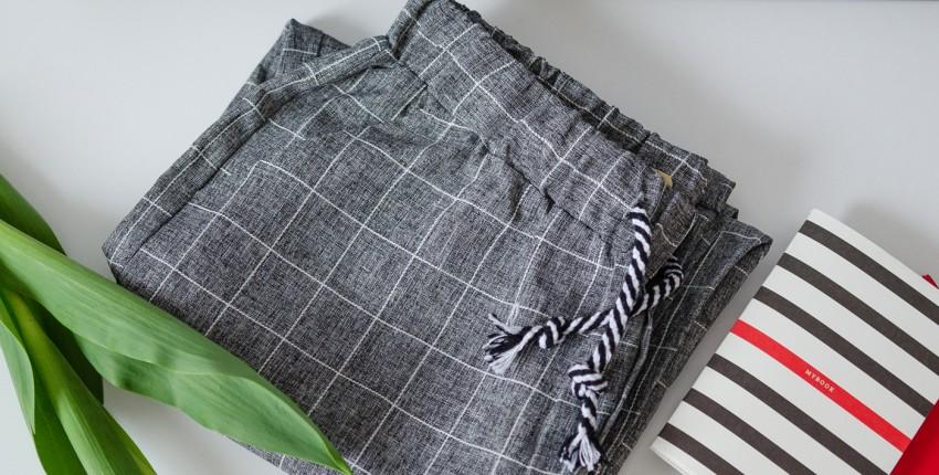 Классные штаны в клетку - отзыв покупателя