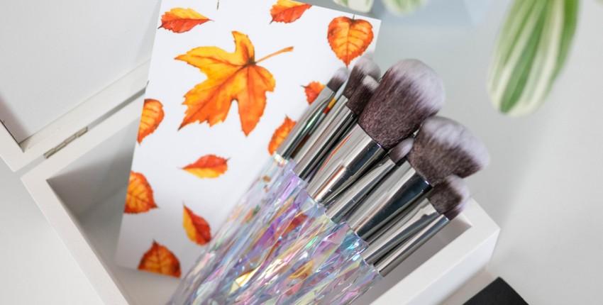 Кристальные кисти для макияжа, набор 10шт - отзыв покупателя