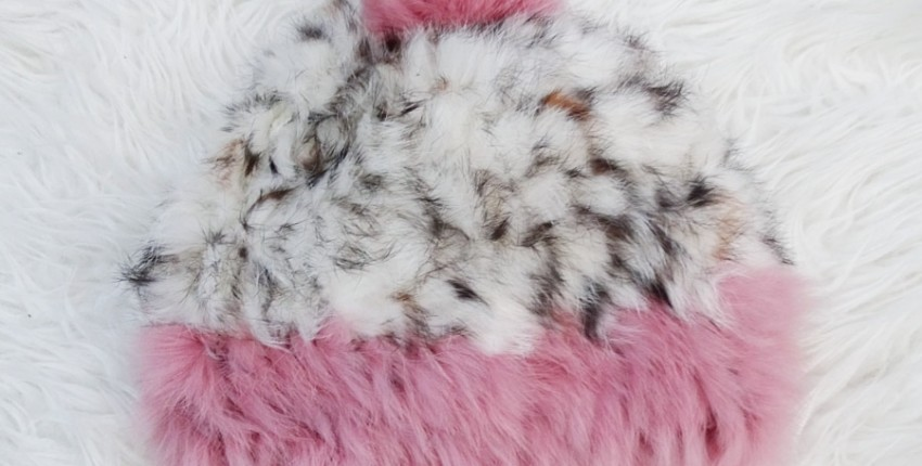 Теплая шапочка из меха кролика - отзыв покупателя
