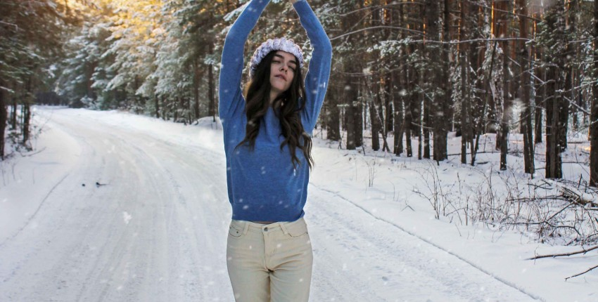 Мягонький голубой джемперок с Алиэкспресс - отзыв покупателя
