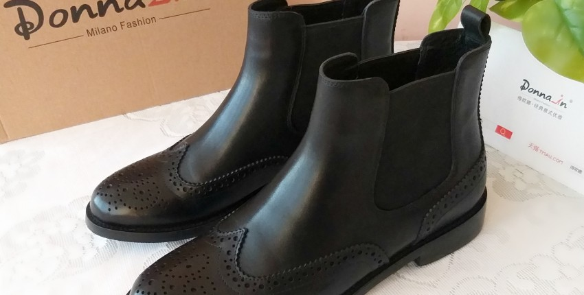 Стильные женские ботинки челси от Donna-in. - отзыв покупателя