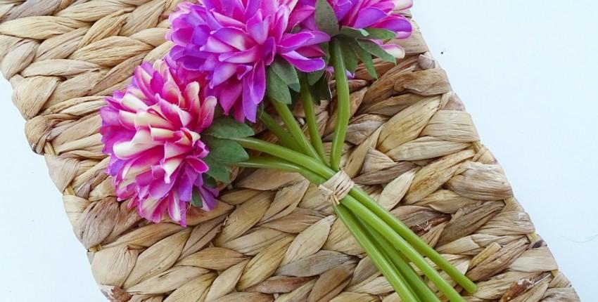 Букет искусственных цветов - отзыв покупателя
