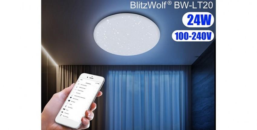 Потолочный Smart светильник Blitzwolf BW-LT20 - отзыв покупателя