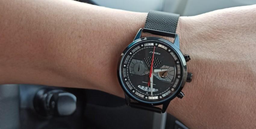 Классные мужские часы от SINOBI - отзыв покупателя